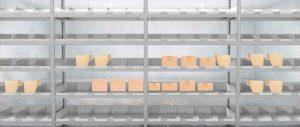 scaffale ricambi con divisori scatole Euroscaffale