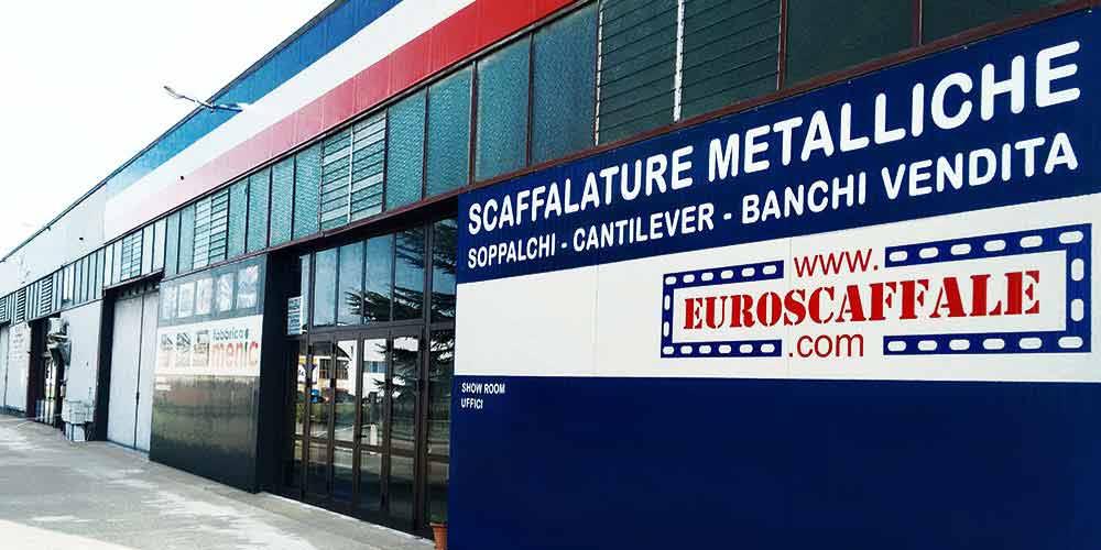 sede fabbrica scaffalature Euroscaffale