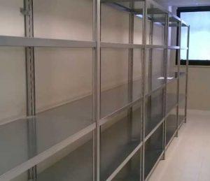 scaffalature metalliche magazzino hotel euroscaffale foto 001