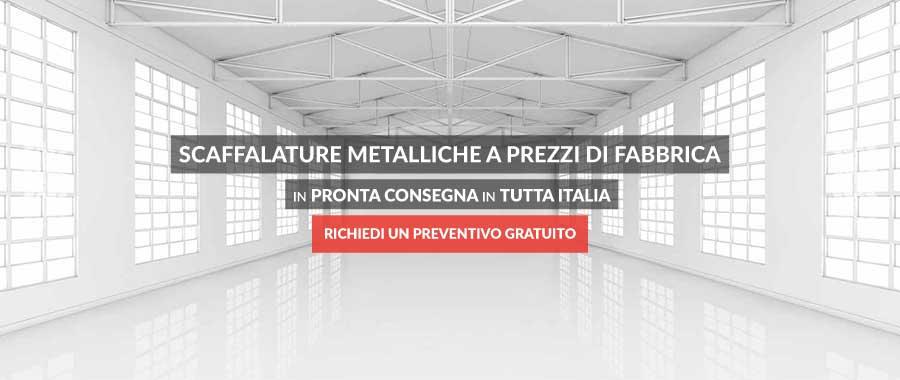 scaffalature metalliche prezzi di fabbrica Euroscaffale slider