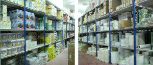 scaffalature metalliche grande distribuzione casalinghi composizione Euroscaffale