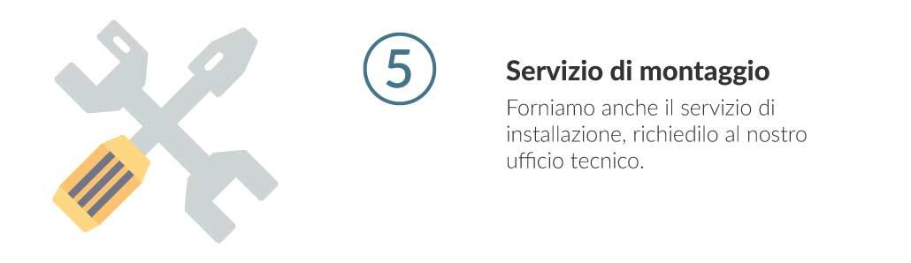 step 05 servizio di montaggio Euroscaffale