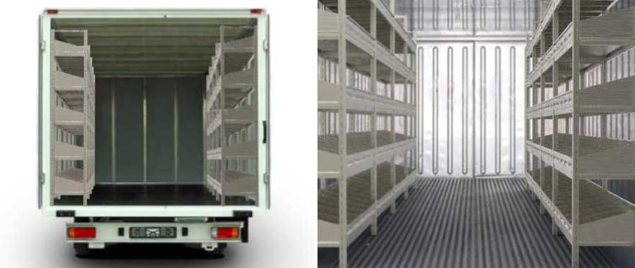 Allestimento furgone slider Euroscaffale 02