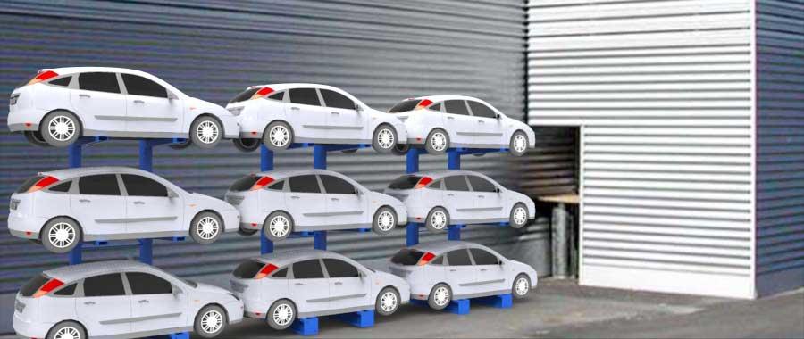 Porta auto per autodemolitori slider Euroscaffale foto 01