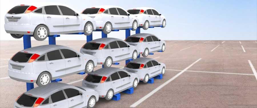 Porta auto per autodemolitori slider Euroscaffale foto 02