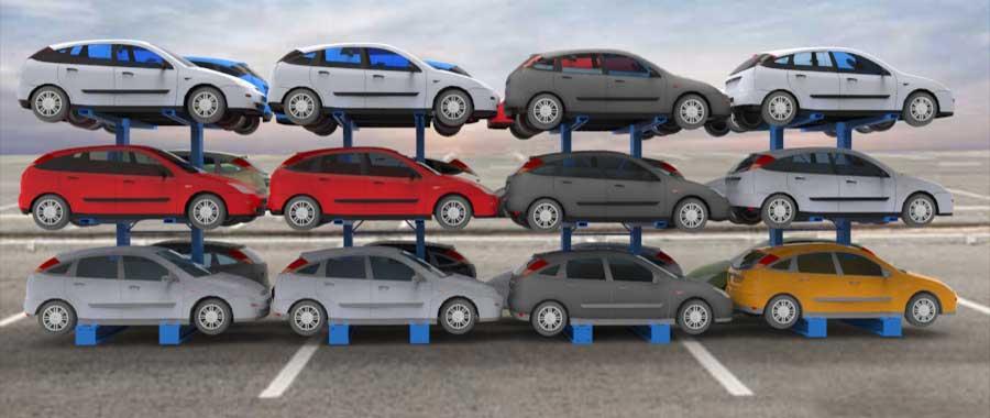Porta auto per autodemolitori slider Euroscaffale foto 04