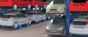 Porta auto per autodemolitori slider Euroscaffale foto 05