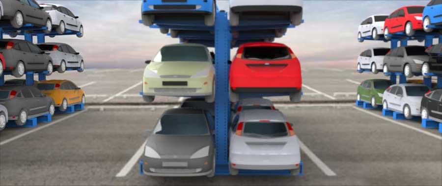 Porta auto per autodemolitori slider Euroscaffale foto 06