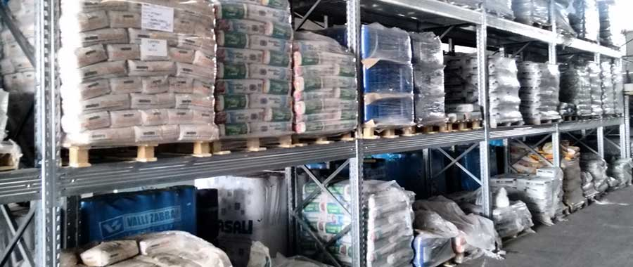 Porta pallet modello E90 elevata portata settore edilizia Euroscaffale foto 05