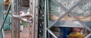 Porta pallet modello E90 particolare fiancata Euroscaffale foto 08