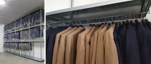 scaffalatura metallica modello E40 tessile porta grucce Euroscaffale 07