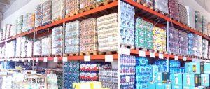 porta pallet settore beverage Euroscaffale