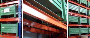 scaffalature settore meccanica particolare trave Euroscaffale