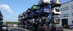 scaffalature porta auto bifronte Euroscaffale 01