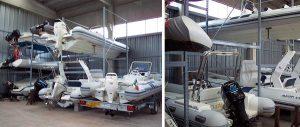 Porta barche rimessaggio Euroscaffale 02