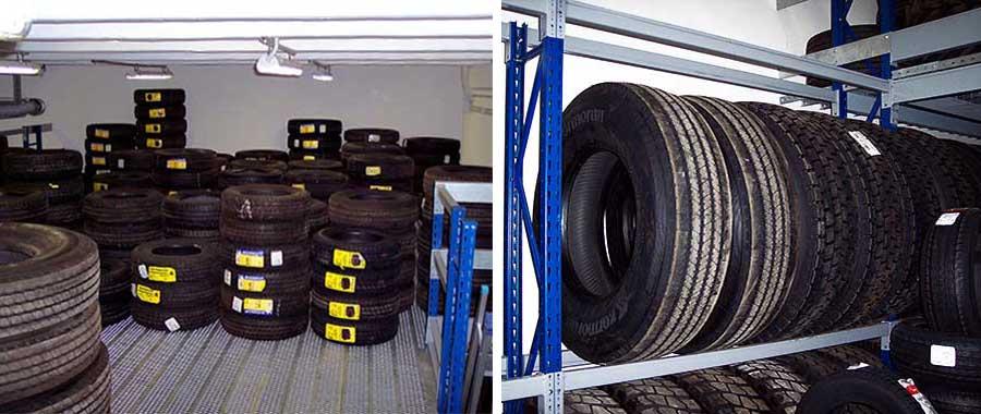 Porta pneumatici industriali