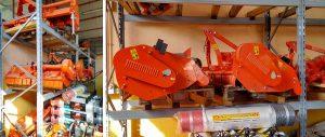 scaffalature portapallet per ricambi agricoli pesanti e di grandi dimensioni modello E90 euroscaffale