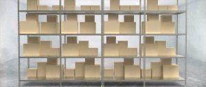 Slider scaffalatura metallica a bullone modello angolare Euroscaffale 001