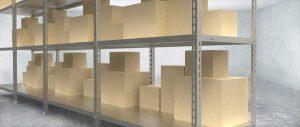 Slider scaffalatura metallica a bullone modello angolare Euroscaffale 002
