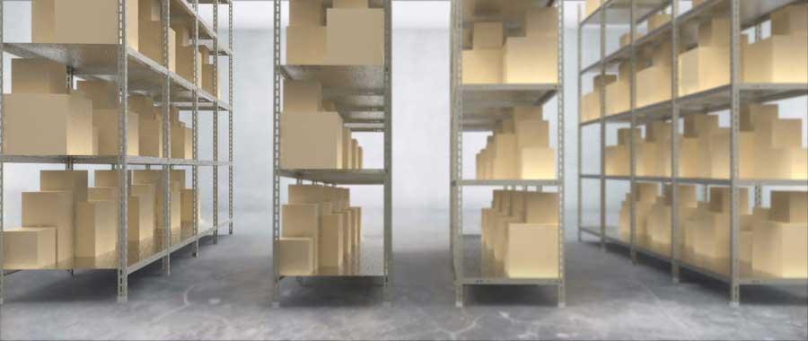 Slider scaffalatura metallica a bullone modello angolare Euroscaffale 004