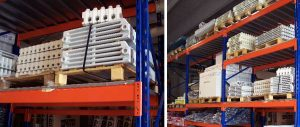 scaffalature industriali per termoidraulica Euroscaffale