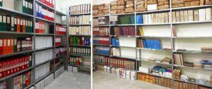 Scaffali archivio documenti
