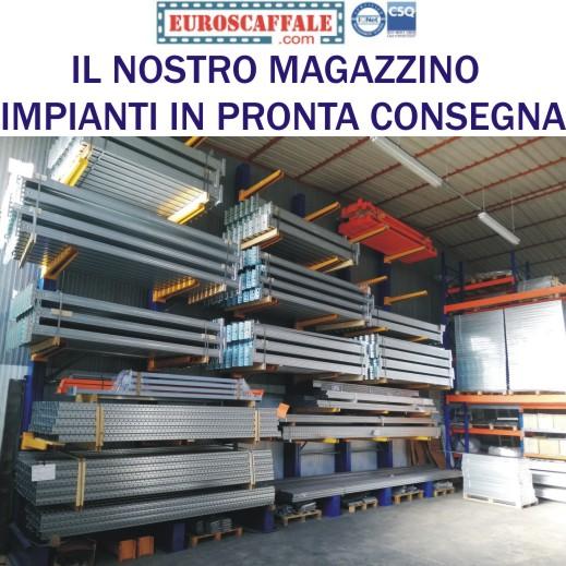 Vendita Scaffali Metallici Roma.Scaffalature E Scaffali Metallici Industriali Euroscaffale S R L