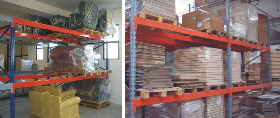 scaffale portapallet per mobilifici e falegnami Euroscaffale